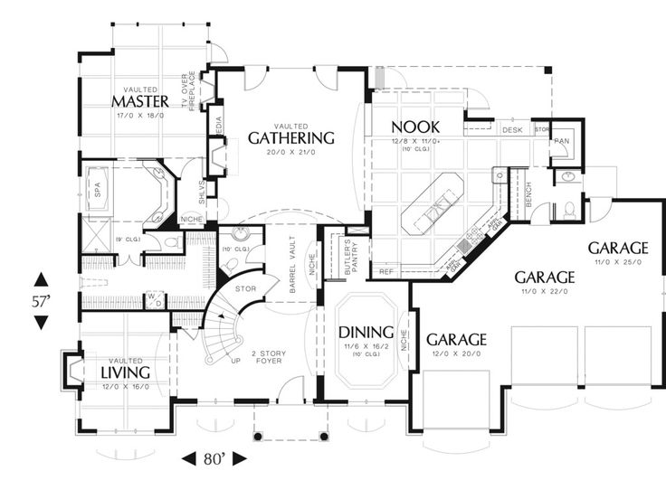 15 best Floor Plans images on Pinterest | Floor plans, Garages and ...