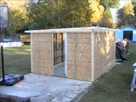 Pallet shed 2 diy projects pinterest
