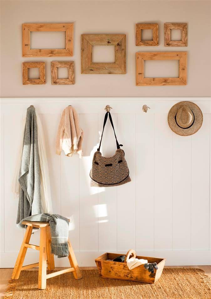 M s de 25 ideas incre bles sobre marcos de madera en pinterest for Colgadores de cuadros
