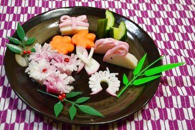 おせち料理やお弁当にピッタリな☆飾り切り」レシピ、作り方