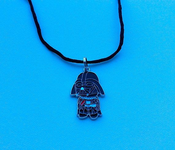 Darth Vader necklaceStormtrooper Star War by PetalcraftArt on Etsy