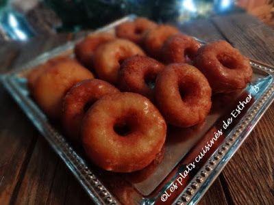 Les plats cuisinés de Esther B: Beignes aux patates à l'érable