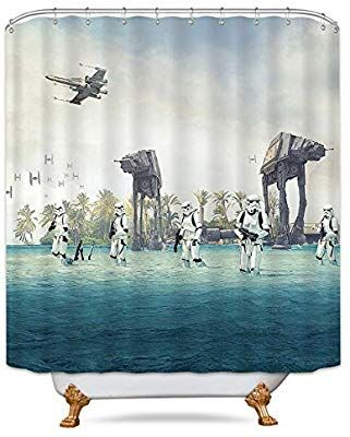 Amazon AT Empire Strikes Back In Star Wars Movie Shower Curtain