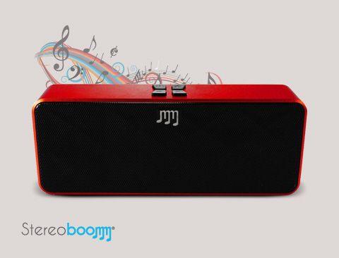Een <strong>compact en draagbaar</strong> toestel om altijd en overal uw favoriete muziek af te spelen! Deze trendy <strong>bluetooth speaker</strong> tovert iedere telefoon, smartphone, tablet of mobiel apparaat om tot een draagbaar audiosysteem.