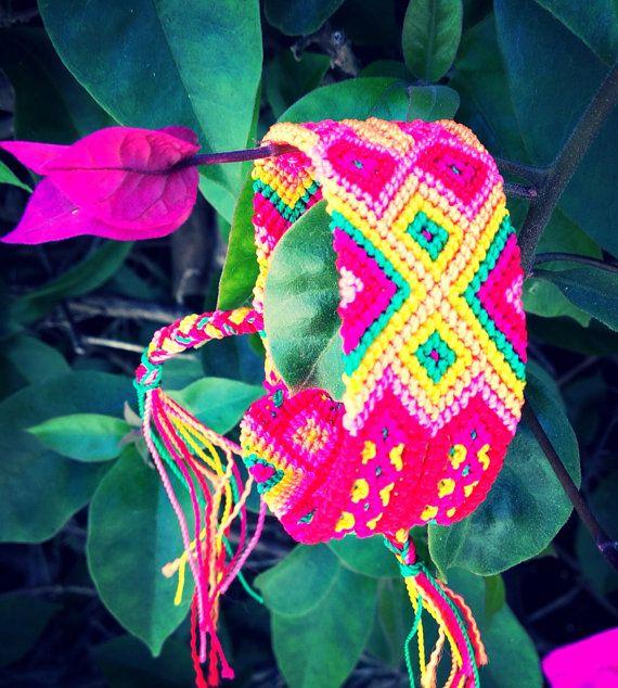 Bougainville Friendship Bracelet  - 24 Strings