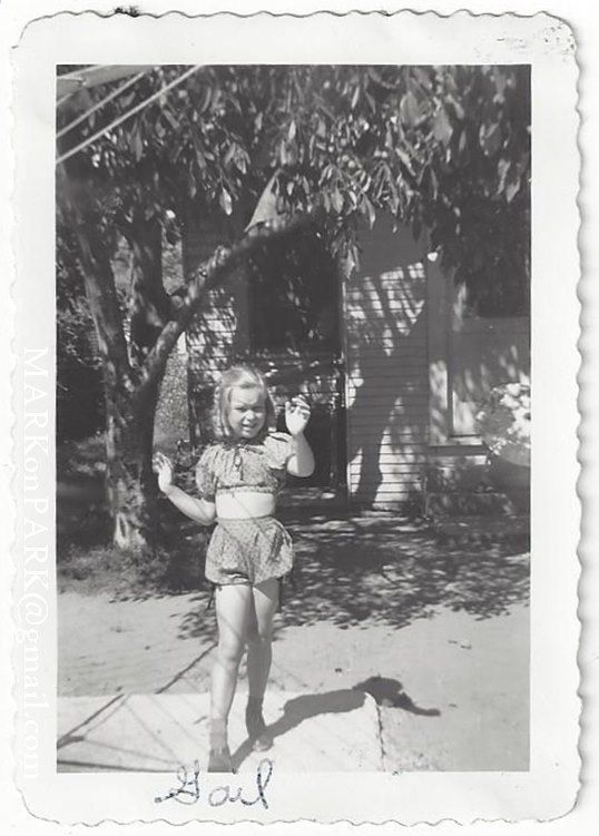 Girl Shows Off Dance Recital Costume 1940s est. by MARKonPARK