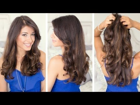 How To: Blow Dry Wavy - YouTube