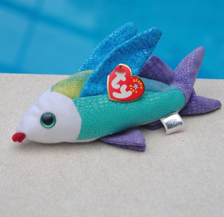 16 best ty beanie babies galore images on pinterest for Fish beanie baby