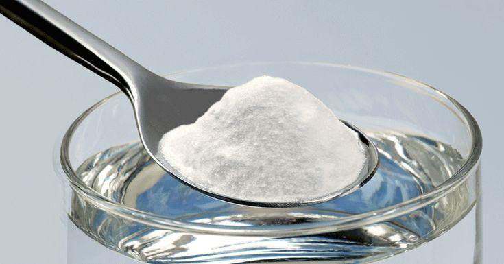 bicarbonate de soude et jus de citron