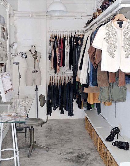 Consigue espacio extra con burros de ropa blog ideas - Burros para ropa ...