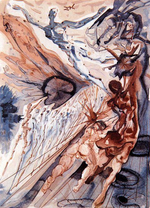 Dalí #aquarela