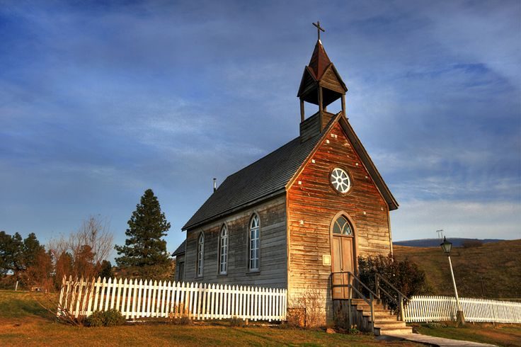 O'Keefe Ranch Church - Vernon, British Columbia, my hometown