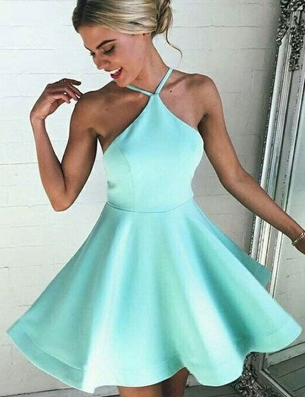 Prom Dress, Country Homecoming Gowns,Sweet 16 Dress,Simple Homecoming Dress,Casual Parties Gowns