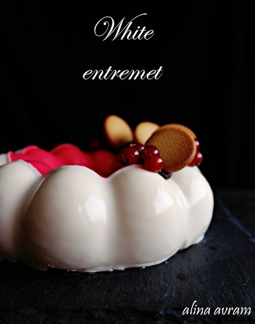 White chocolate entremet
