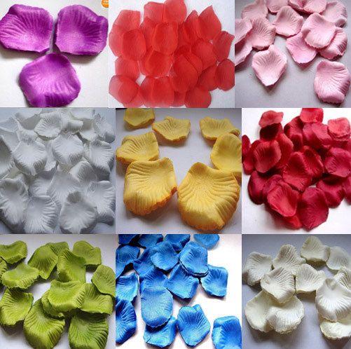 1000pc Silk Rose Petals Wedding Supplies by happyweddings on Etsy, $9.99
