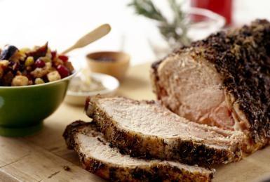 Herbed roast pork loin - Jennifer Levy/Photodisc/Getty Images