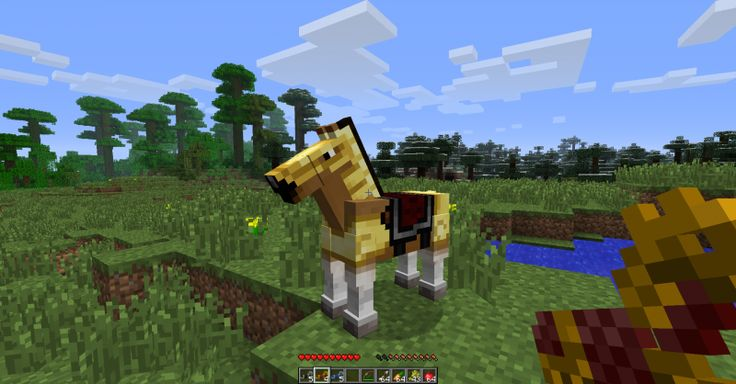 how to make a mule in minecraft pe