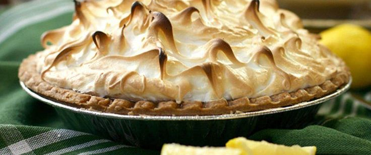 A dessert to impress, our lemon meringue pie uses Pillsbury Pet Ritz deep-dish pie crust to save time.