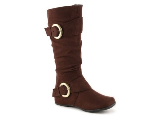 Women's Journee Collection Jester Wide Calf Boot - Brown