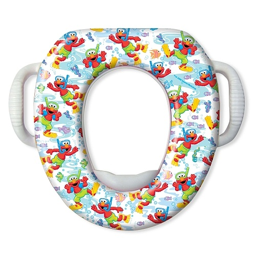 elmo scuba soft potty seat sesame street