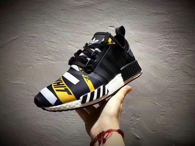 21136d51a Adidas NMD R1 Off White Black White Yellow New Shohes Eur 40 44 Buy Shoe
