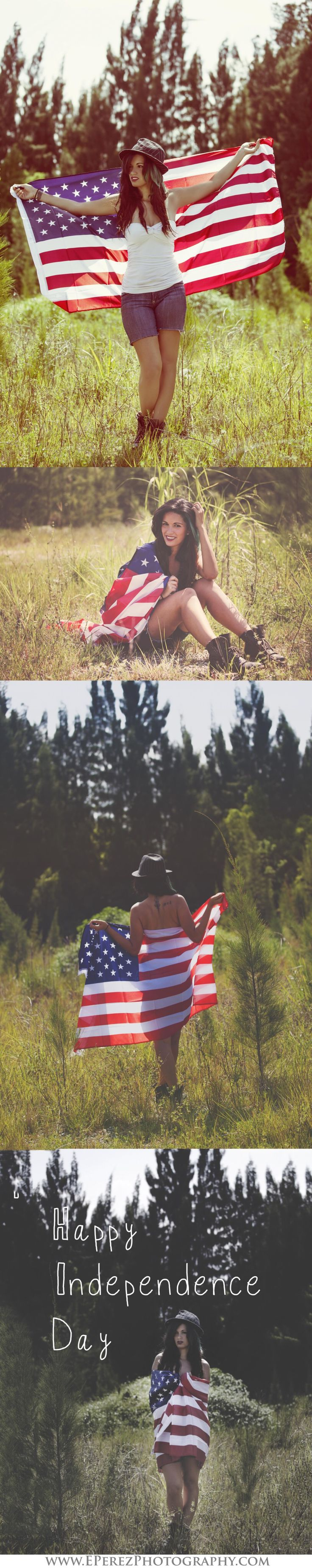 Independence Day Photography. Patriotic, American Flag, Photoshoot by E.Perez Photography