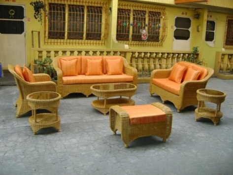 1000 Images About Wicker Living Room Furniture On Pinterest