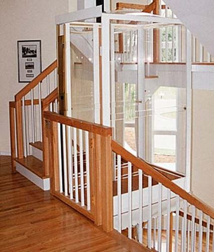 12 best images about home elevators on pinterest for Simple home elevators
