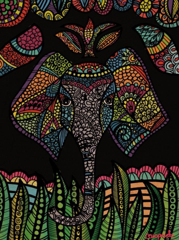 Elefante Hindú | Caro Prieto