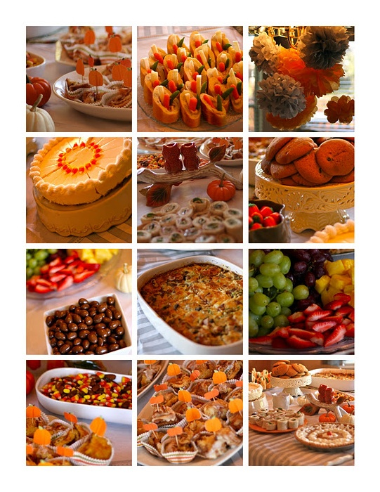 fall baby shower food ideas will have to add in bunny
