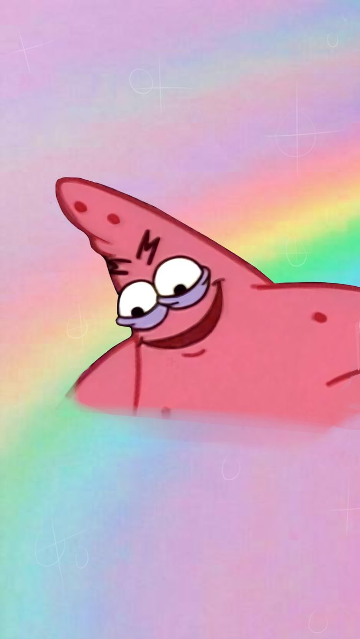 #patrickthestar #patrick #spongebob #spongebob #rainbow | Abstract HD Wallpapers 6
