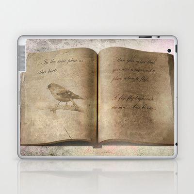 Just Fly... Laptop & iPad Skin by Oscar Tello Muñoz - $25.00
