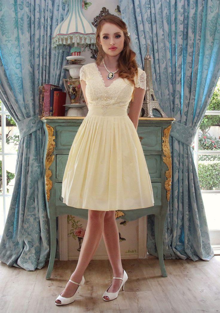 Pretty Ballerina Lemon Dress