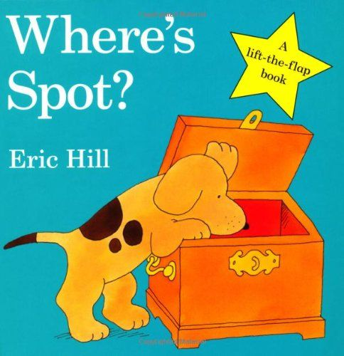 Where's Spot? by Eric Hill. More like this at www.thebookseekers.com/collections.html