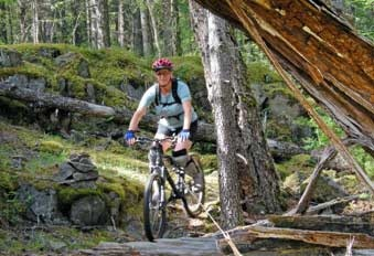 Biking On Quadra Island. photo by #PhilipJStone