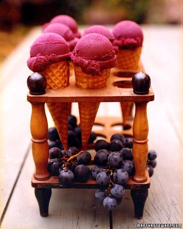 Concord Grape Sorbet Recipe for Tu BiSh'vat