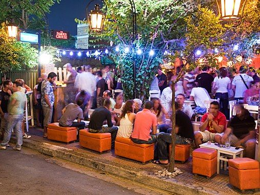 Things to Do in Greece: An Athens Nightlife Crawl : Condé Nast Traveler
