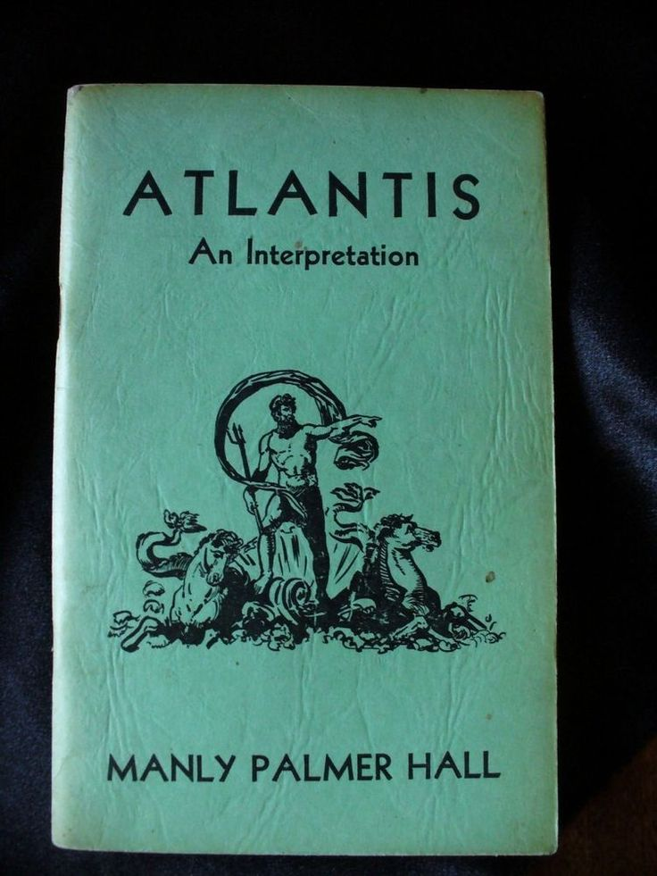 1946 ATLANTIS MANLY P. HALL OCCULT LOST CONTINENT