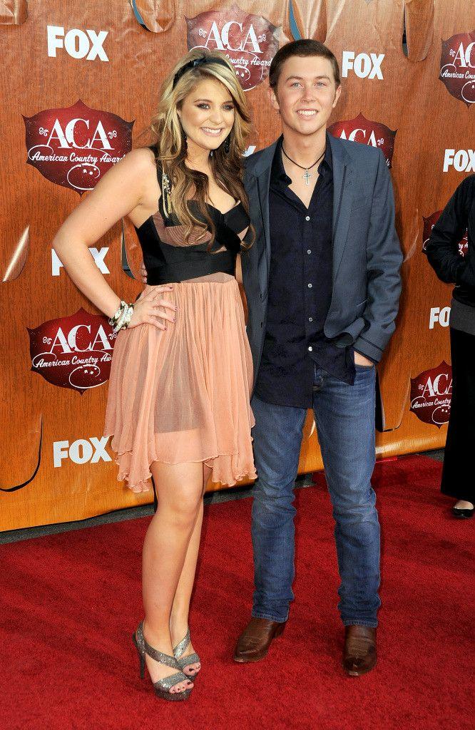 Scotty McCreery och Lauren Alaina är de dating topp dating apps i Las Vegas