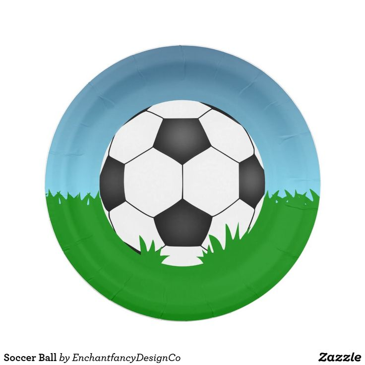 Soccer Ball Paper Plate  sc 1 st  Pinterest & 33 best Paper Plates for Parties images on Pinterest | Paper plates ...
