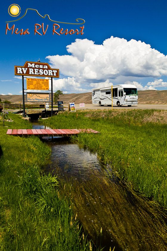 Mesa RV Resort Gunnison, Colorado  RV Campground near Blue Mesa Lake camping vacation rockies fishing hiking atv jeep trails