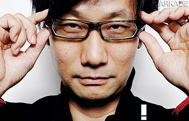 Hideo Kojima dará o ar da graça nesta Brasil Game Show.