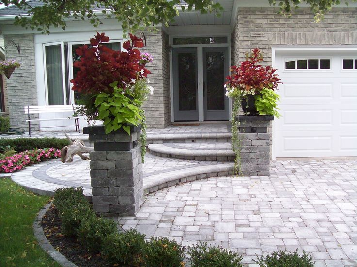 Best 25 front entrances ideas on pinterest front door Plants next to front door