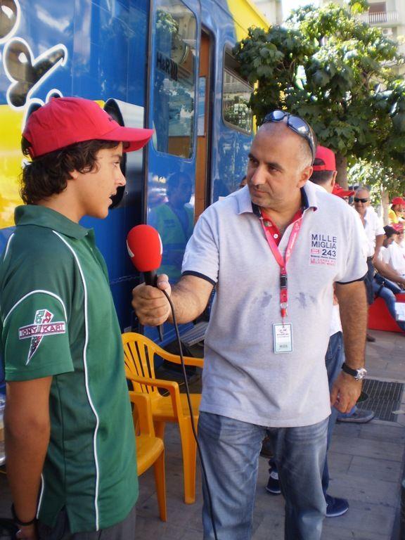 Ο Φιλιππος Καλέσης δίνει συνεντευξη στο PICK PATRAS, για την 3η θέση του στο Παγκόσμιο Πρωτάθλημα Academy Trophy 2010