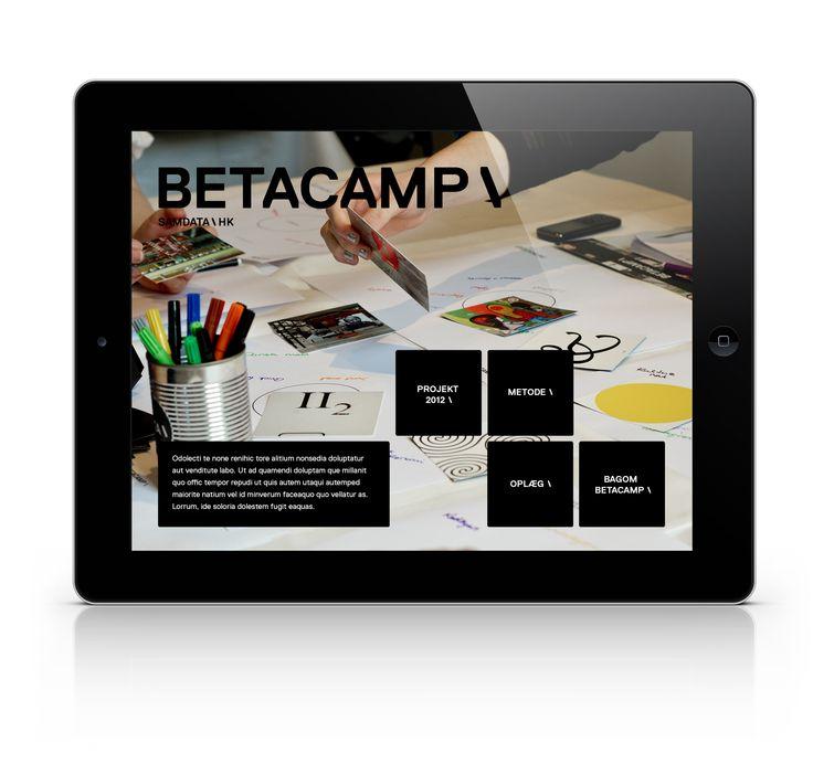 Wir haben eine APP entwickelt, die als Dokumentation und Wissensportal fungiert. Mit einer übersichtlichen Navigation, die zu den Bildern, Teilnehmerinformationen, Expertenvideos und Präsentationen führt.