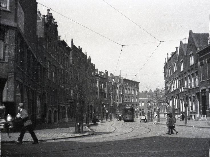 De Insulindestraat omstreeks 1933