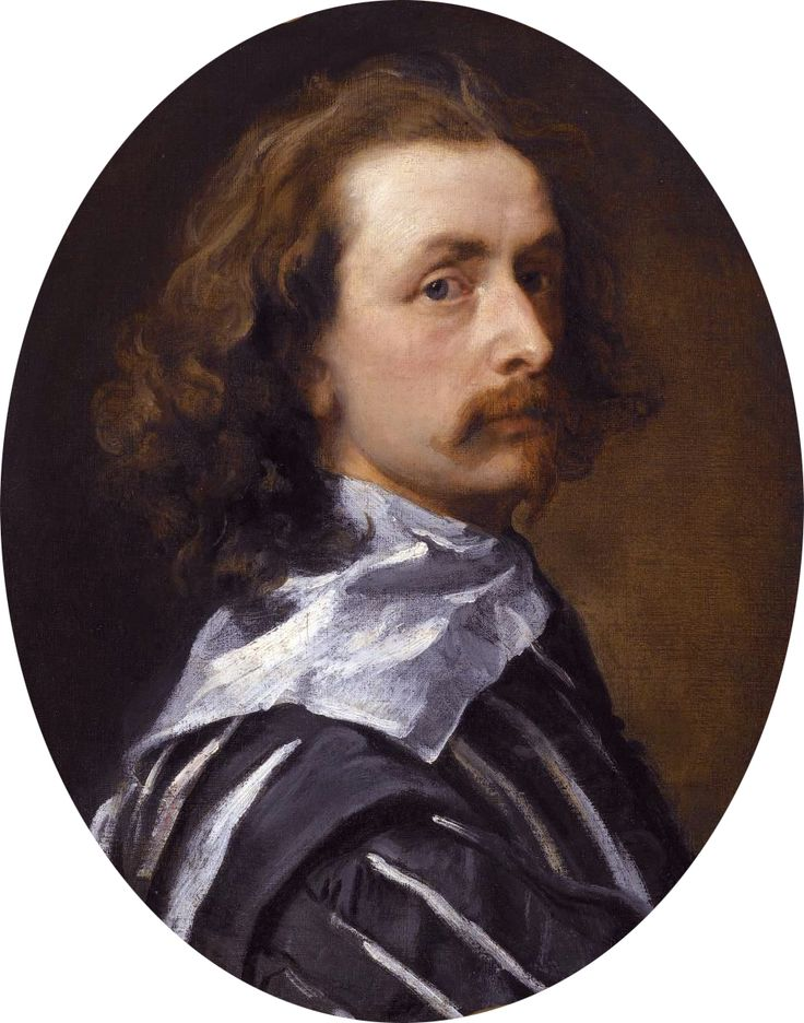 Sir Anthony van Dyck (22 March 1599 – 9 December 1641), Self-portrait, 1640 | http://en.wikipedia.org/wiki/Anthony_van_Dyck