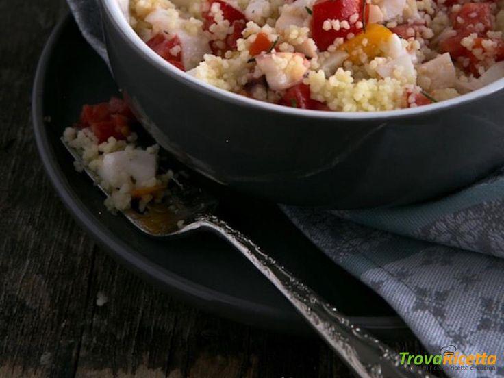 Insalata di cuscus pesce e citronette  #ricette #food #recipes