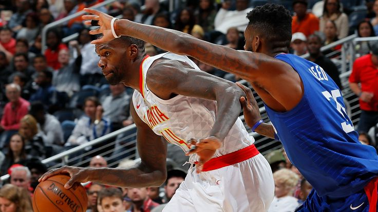 """After only taking one 3-pointer in his career prior to the 2016-17 season, Hawks center Dewayne Dedmon has taken coach Mike Budenholzer's advice to heart: """"He told me to let it fly.""""  http://heysport.biz/index.html"""