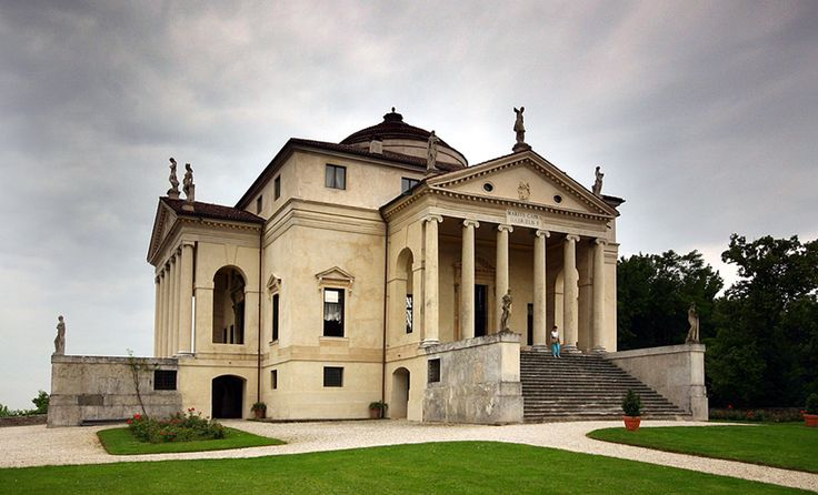 Villa Rotonda - Arquitetura Renascentista.